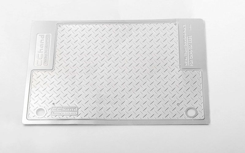 RC4WD Diamond Plate Rear Cargo for Capo Racing Samurai 1/6 RC S