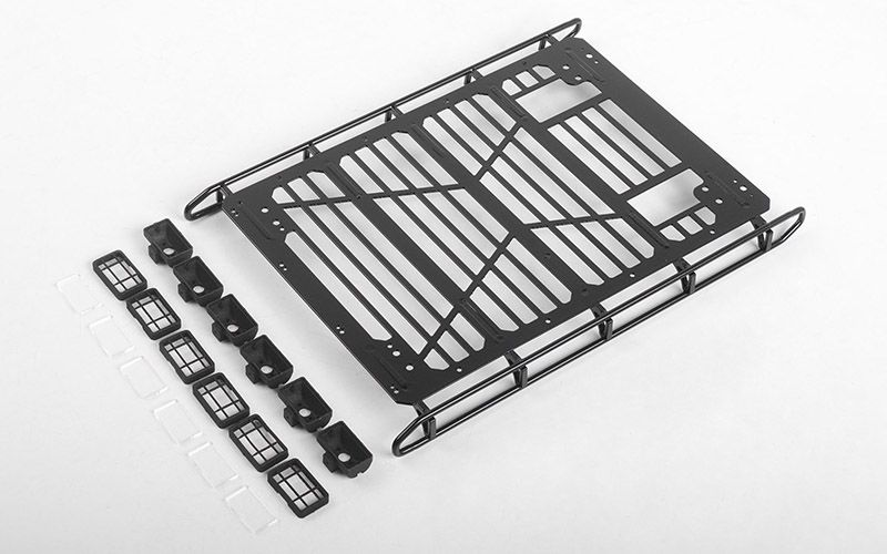 RC4WD Adventure Roof Rack w/ Front and Rear Lights for Traxxas