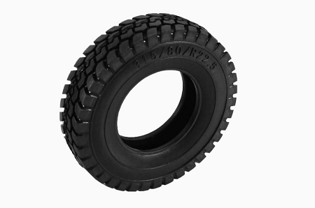 "RC4WD King of the Road 1.7"" 1/14 Semi Truck Tires"
