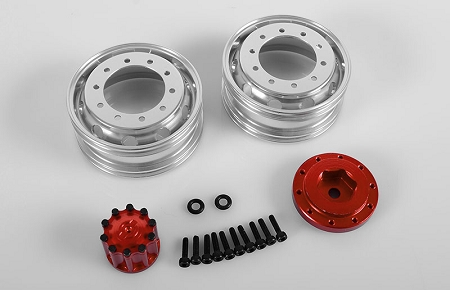RC4WD Ice Trucking Semi Truck Rear Wheels (Pair)