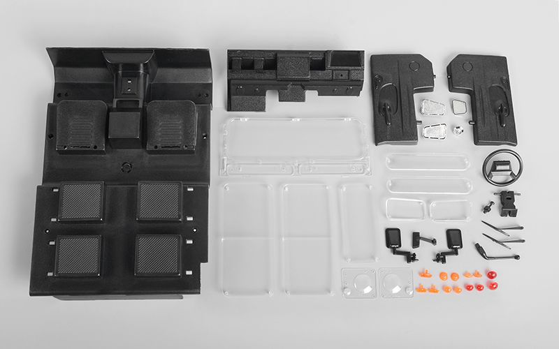 RC4WD Hard Plastic Body Replacement Parts for Gelande II D90