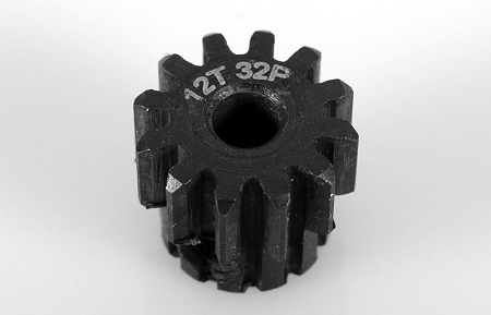 RC4WD 12t 32p Hardened Steel Pinion Gear