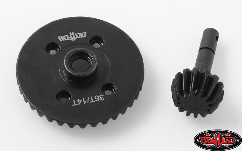 RC4WD Heavy Duty Bevel Gear Set 36T/14T