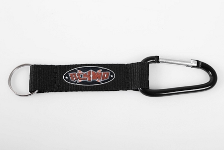 RC4WD Carabiner with Web Strap & Keyring