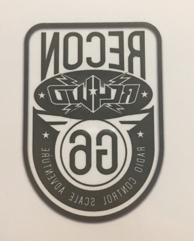 RC4WD Recon G6 Fun Temporary Tattoos