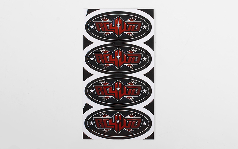 "RC4WD Logo Decal Sheets (2"")"