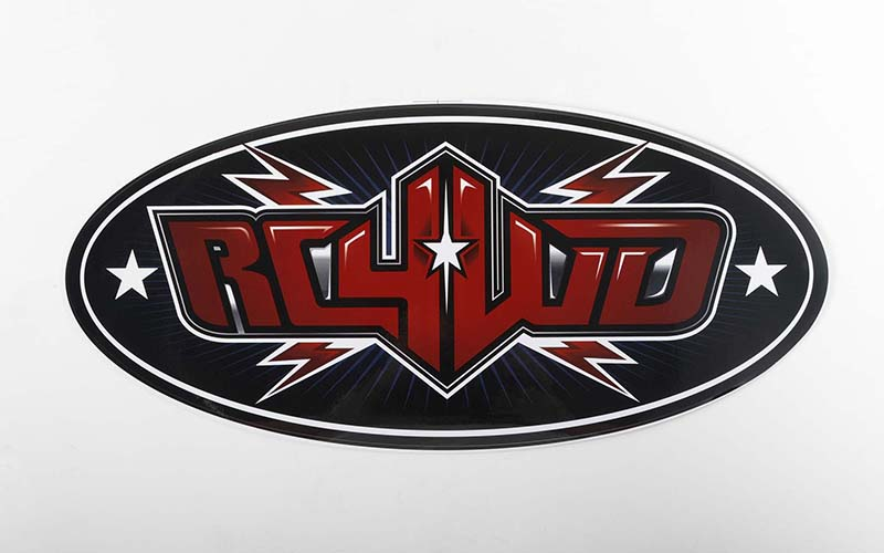 "RC4WD Logo Decal Sheets (12"")"