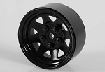 "RC4WD 5 Lug Wagon 1.9"" Single Steel Stamped Beadlock Wheel (Blac"