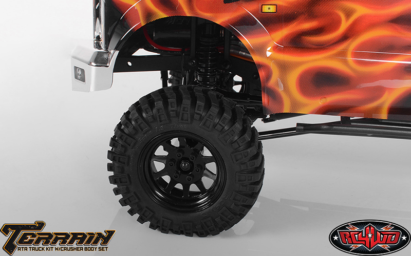 RC4WD Terrain RTR Truck Kit w/Crusher Body Set - Click Image to Close