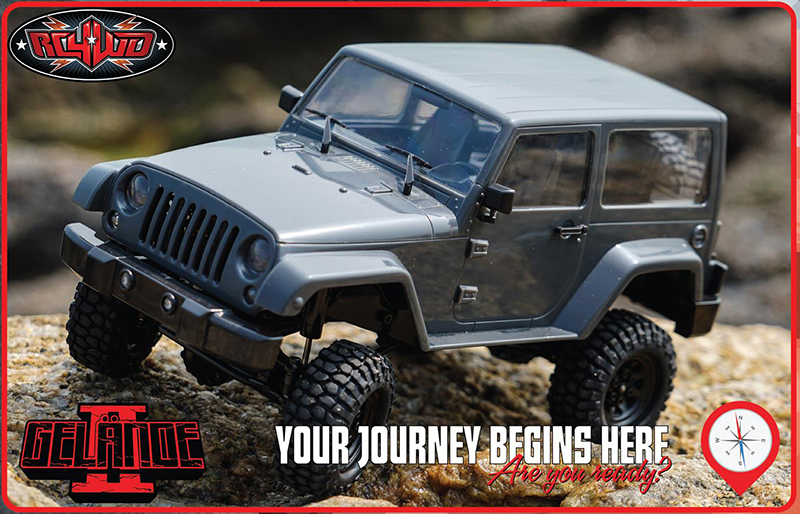 RC4WD 1/18 Gelande II RTR w/Black Rock Body Set