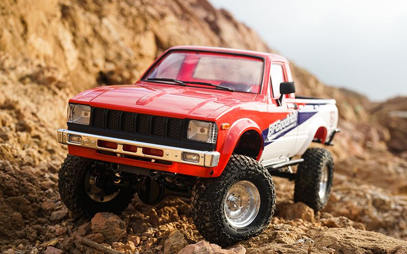 RC4WD Trail Finder 2 RTR w/Mojave II Body Set (BFGoodrich 150th)