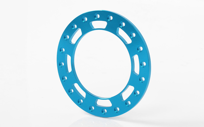 "RC4WD Replacement Beadlock Rings for TRO 1.7"" Wheels (Blue)"