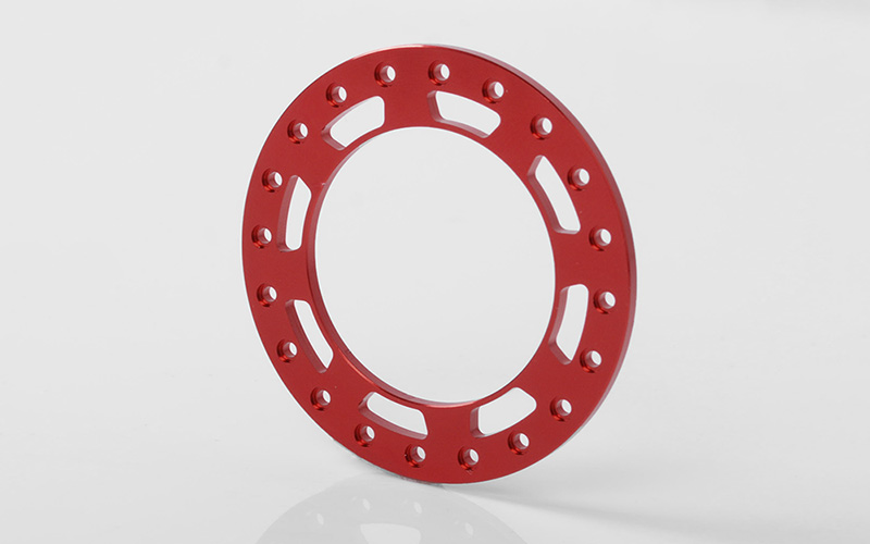 "RC4WD Replacement Beadlock Rings for TRO 1.7"" Wheels (Red)"