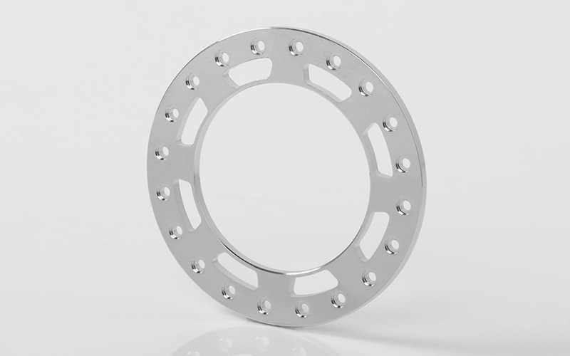 "RC4WD Replacement Beadlock Rings for TRO 1.7"" Wheels (Chrome)"