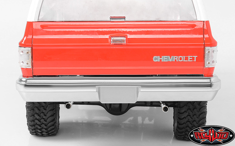 RC4WD Aluminum Rear Bumper for the Chevy Blazer Body