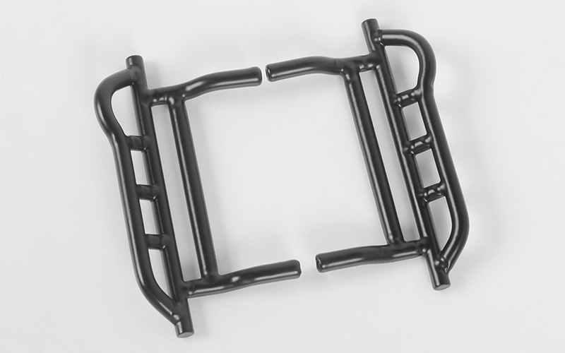 RC4WD Tough Armor Side Steel Sliders for Mini Gelande II w/Blac