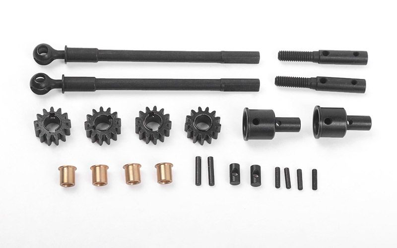 RC4WD Replacement CVD Axles for Portal Front Axles for Axial AR