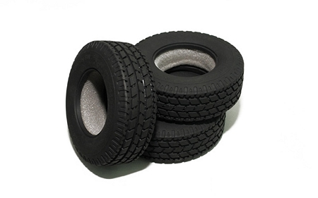 "RC4WD Roady Super Wide 1.7"" Commercial 1/14 Semi Truck Tires"