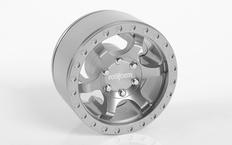 "RC4WD Rotiform Six-OR 1.55"" Beadlock Wheels"