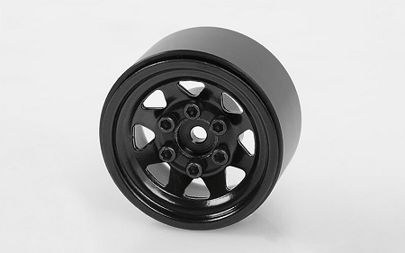 "RC4WD Stamped Steel 1.0"" Stock Beadlock Wheels (Black)"
