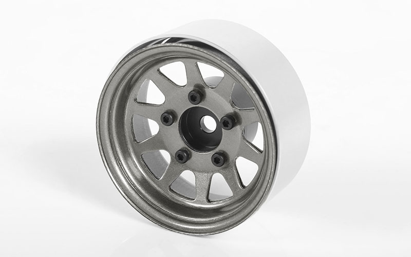 "RC4WD OEM Stamped Steel 1.55"" Beadlock Wheels (Plain)"
