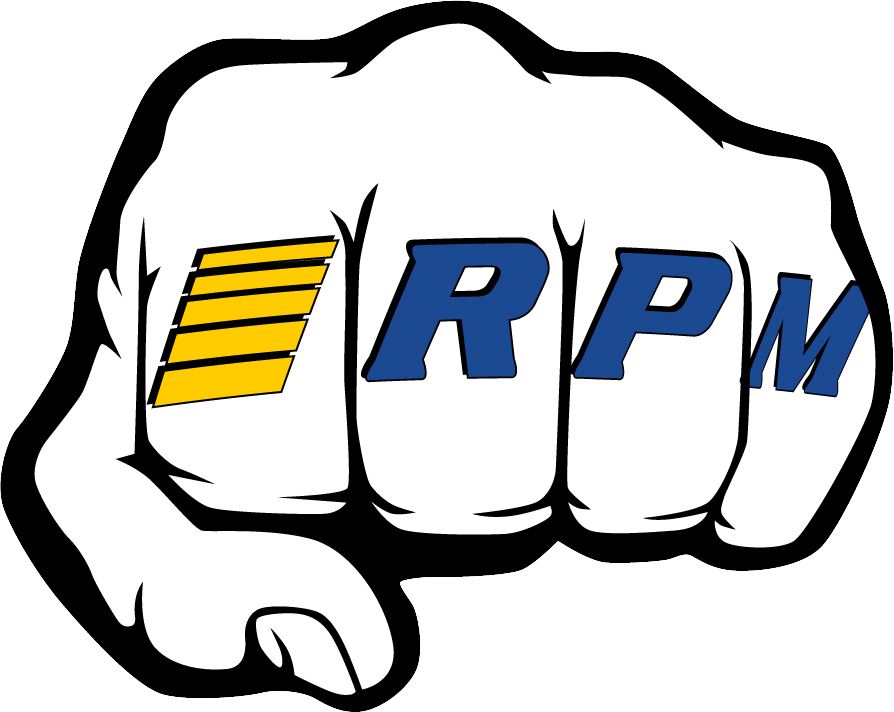 "RPM ""Fist"" Logo Decal Sheets"