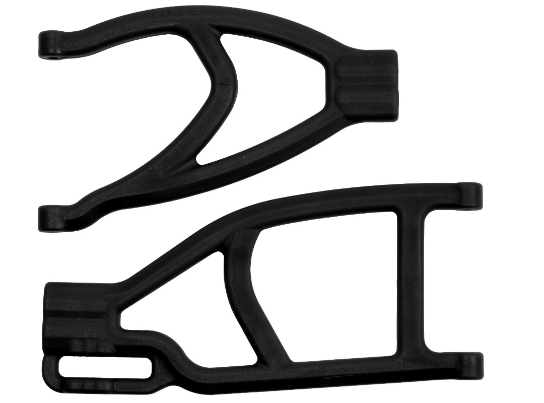 RPM Traxxas Revo/Summit Extended Rear Left A-Arms (Black)