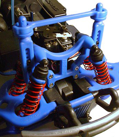 RPM Shock Tower w/Body Mount (Blue)