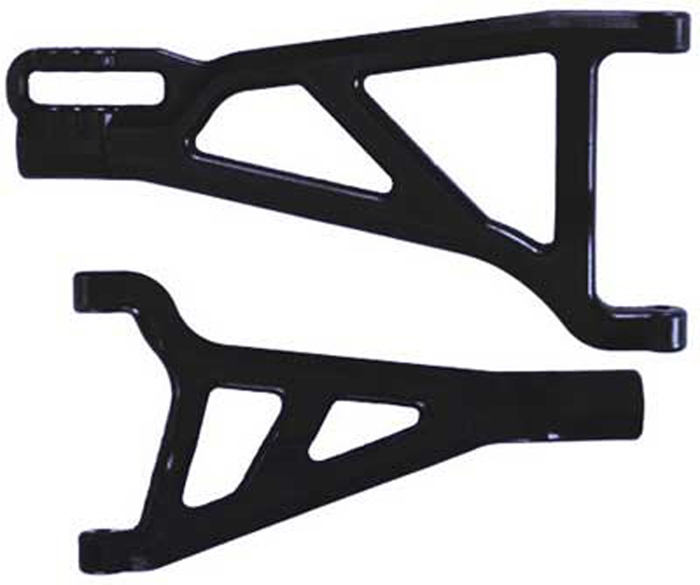 RPM Traxxas Revo/Summit Front Right A-Arms (Black)