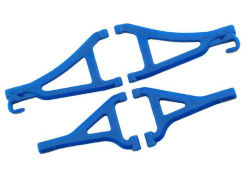 RPM Front A-arms for the Traxxas 1/16 E-Revo - Blue