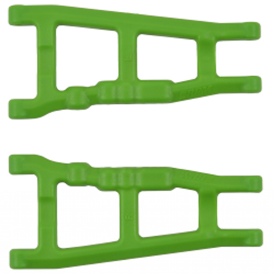 RPM Traxxas Slash 4x4 Front/Rear A-Arm Set (Green) (2)