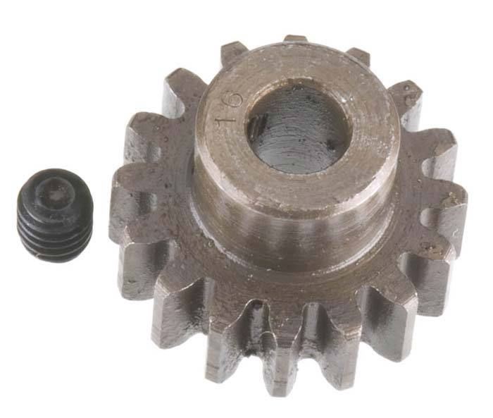 Robinson Racing Extra Hard Steel Mod1 Pinion Gear w/5mm Bore 16T