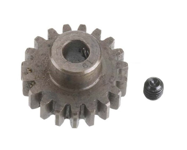 Robinson Racing Extra Hard Steel Mod1 Pinion Gear w/5mm Bore 19T