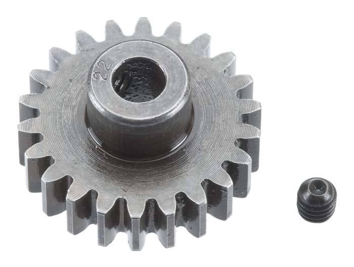Robinson Racing Extra Hard Steel Mod1 Pinion Gear w/5mm Bore 22T