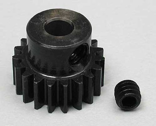 "Robinson Racing 19T Super Hard ""Absolute"" Steel Motor Pinion 1/8"