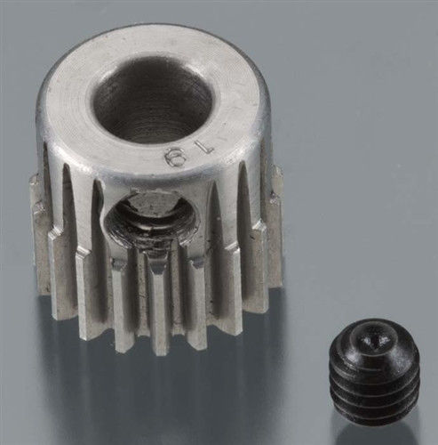 Robinson Racing 48P Machined Pinion Gear w/5mm Bore (19)