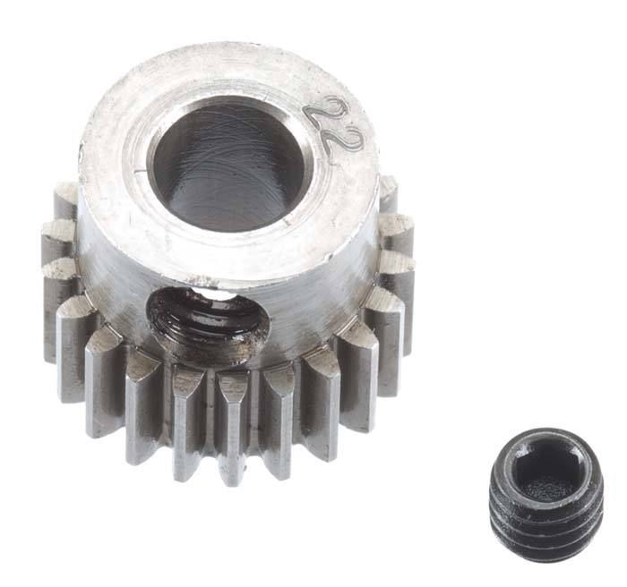 Robinson Racing 48P Machined Pinion Gear w/5mm Bore (22)