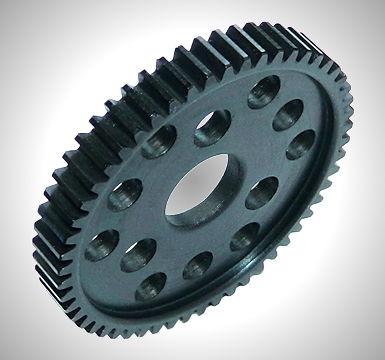 Robinson Racing Steel Spur Gear & Slipper Pad (54T)
