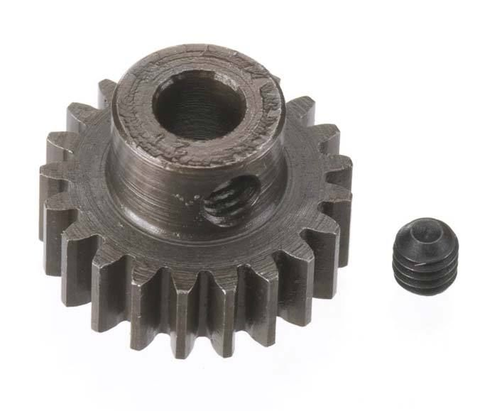 Robinson Racing Extra Hard Steel .8 Mod Pinion Gear w/5mm Bore (