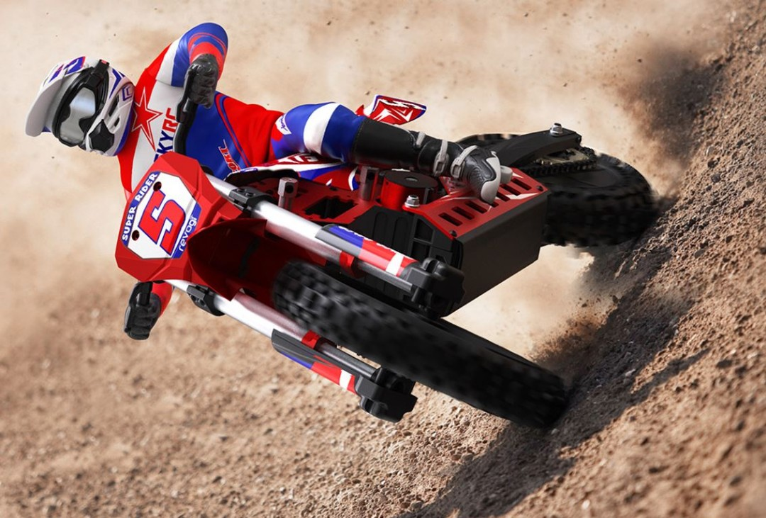 SkyRC Super Rider 1/4 Scale Dirt Bike - Click Image to Close