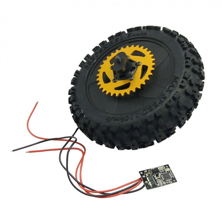 Sky RC Rear Wheel w/ All Parts Assembled for Super Rider SR5