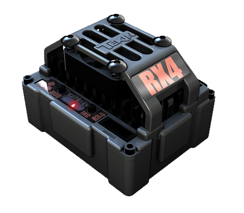 Tekin RX4 Hardbox Waterproof Sensored/Sensorless D2 Crawler ESC