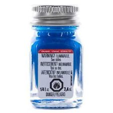 Testors Gloss Blue Enamel 1/4 oz Bottle (6)