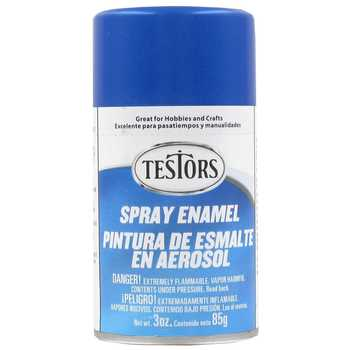 Testors Arctic Blue Metallic Spray 3 oz Spray (3)