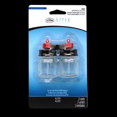 Aztek 2Pk Bottle/Quick Connect Cap 1/2 oz Bottle (1)
