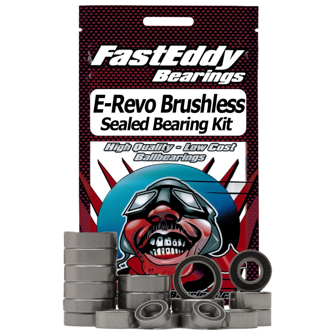 Fast Eddy Traxxas E-Revo Brushless Sealed Bearing Kit
