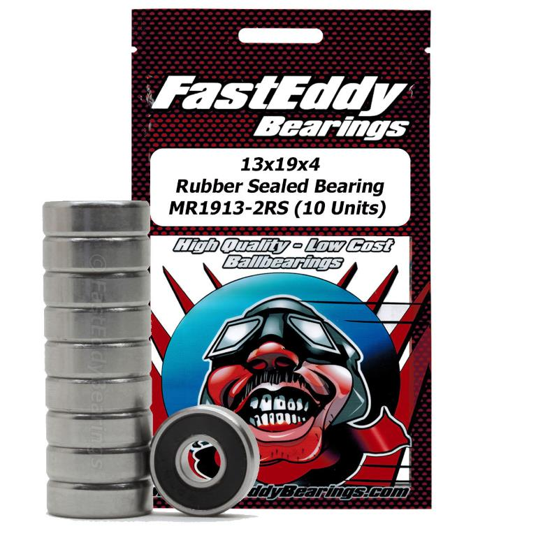Fast Eddy 13x19x4 Rubber Sealed Bearing MR1913-2RS (10)
