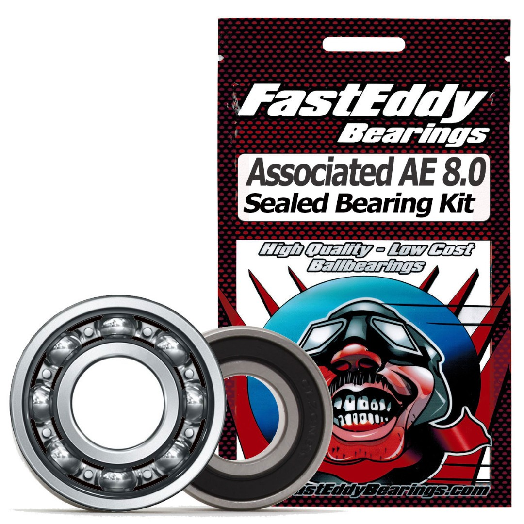 Fast Eddy Team Associated AE 8.0 Sealed Bearing Kit