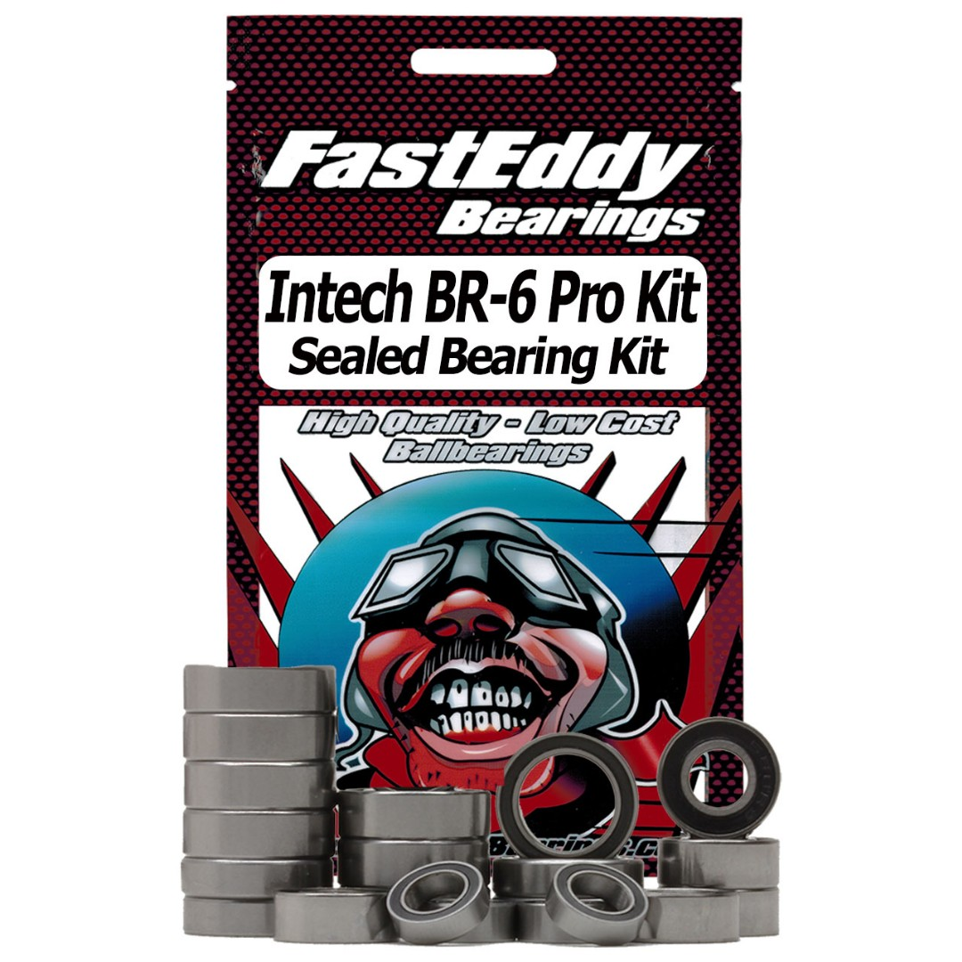 Fast Eddy Intech BR-6 Pro Kit Buggy Sealed Bearing Kit