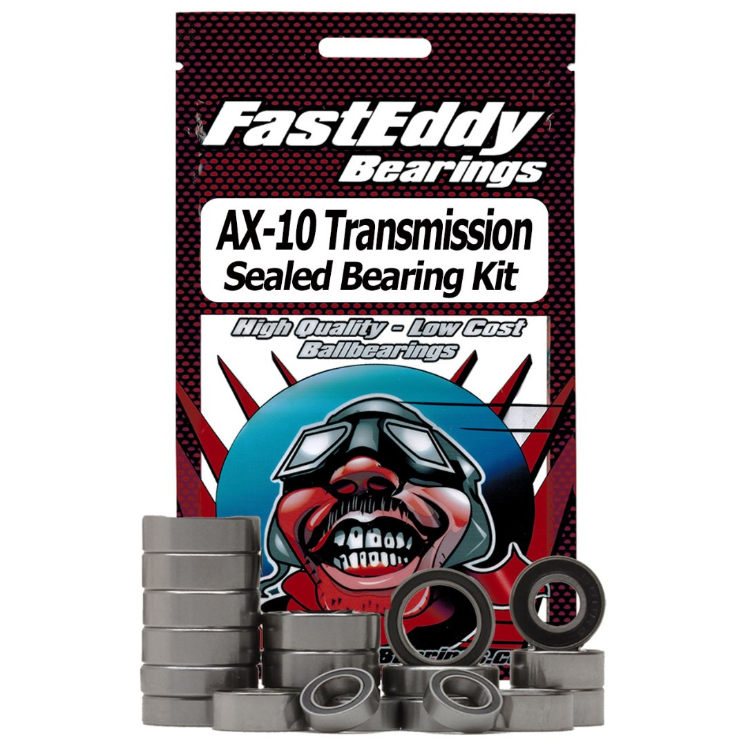 Fast Eddy Axial AX-10 Transmission Sealed Bearing Kit